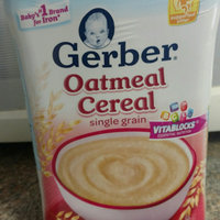 Gerber Single Grain Oatmeal Cereal Baby Food uploaded by Megan G.