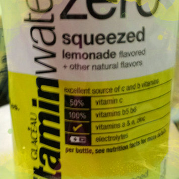 Photo of vitaminwater Zero Squeezed Lemonade uploaded by Shauna G.