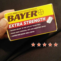 Bayer Aspirin Extra Strength Pain Reliever/Fever Reducer Coated Caplets uploaded by Carlee M.