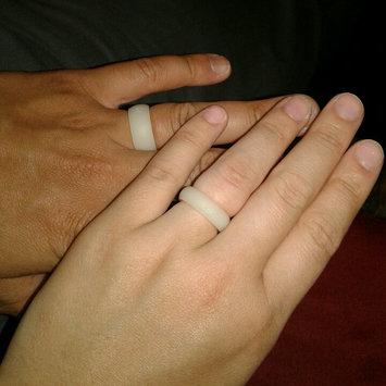 Photo of QALO Men's Silicone Wedding Ring - Black, Grey, Navy Blue, Maroon, Avocado Green (From QALO Silicone Wedding Band