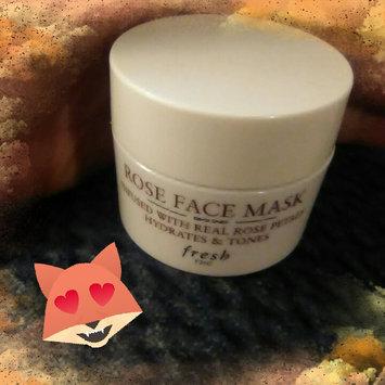 Fresh Rose Face Mask uploaded by Danielle W.