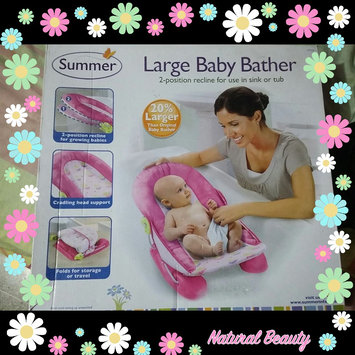 Photo of Summer Infant Mother's Touch Large Baby Bather Refresh, Hip-Hop Frog, 1 ea uploaded by Nicole A.