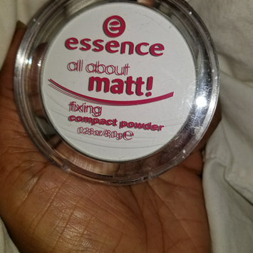 Photo of Essence All About Matt! Fixing Compact Powder uploaded by monica w.