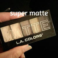 LA Colors Matte Eyeshadow, Natural Linen, 5 Ct uploaded by Maggie T.
