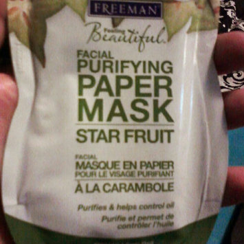 Photo of Freeman Star Fruit Facial Purifying Paper Mask, 0.5 oz uploaded by Sumera N.