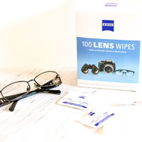 Zeiss Lens Cleaning Wipes 100 Count Pre-moistened Wipes uploaded by Sandra R.
