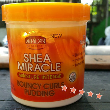 African Pride Shea Butter Miracle Bouncy Curls Pudding, 15 Ounce uploaded by Crystal P.