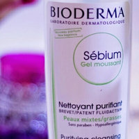 Bioderma - Sebium Purifying and Foaming Cleansing Gel - For Combination/Oily Skin (With Pump) 500ml/16.7oz uploaded by MER Y.