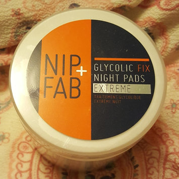 Photo of Nip + Fab Exfoliate Glycolic Fix Night Pads Extreme uploaded by Katy R.