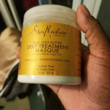 SheaMoisture Raw Shea Butter Deep Treatment Masque w/ Sea Kelp & Argan Oil uploaded by Misty R.