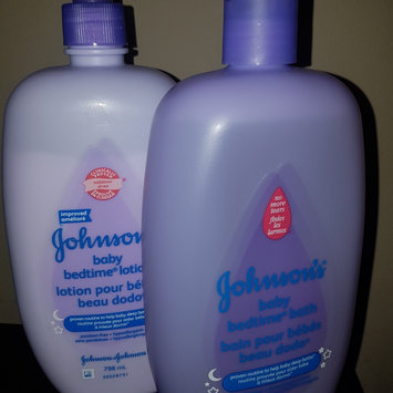 Photo of Johnson's® Bedtime Baby Bath uploaded by Vicki W.