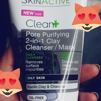 Garnier® SkinActive™ Clean+ Pore Purifying 2-in-1 Clay Cleanser/Mask for Oily Skin 5 fl. oz. Tube uploaded by Lucy S.