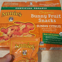 Annie's® Homegrown Sunny Citrus Organic Bunny Fruit Snacks uploaded by NICOLE H.
