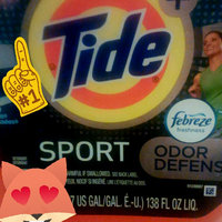 Tide Plus Febreze Sport Active Fresh High Efficiency Liquid Laundry uploaded by Sheena L.