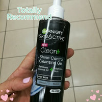 Garnier Skinactive Clean + Shine Control Cleansing Gel uploaded by Carol A.