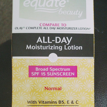 Photo of Equate Beauty Sensitive Skin All-Day Moisturizing Lotion with Sunscreen, 6 fl oz uploaded by Ana F.