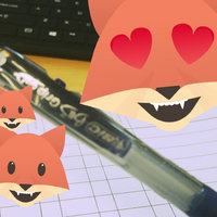 BIC Velocity Retractable Gel Pen Blue - 2 Count uploaded by Joy P.