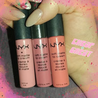 NYX Soft Matte Lip Cream uploaded by Christy M.