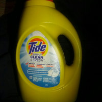 Tide Simply Clean & Fresh HE Liquid Laundry Detergent, Refreshing Breeze Scent, 38 Loads 60 Fl Oz uploaded by Quvante A.