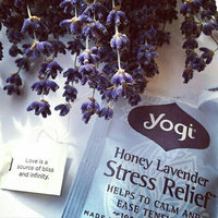 Yogi Tea Honey Lavender Stress Relief uploaded by fatima ezzahra b.