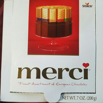 Photo of Storck Merci Finest Assortment of European Chocolates 7 oz uploaded by ana m.