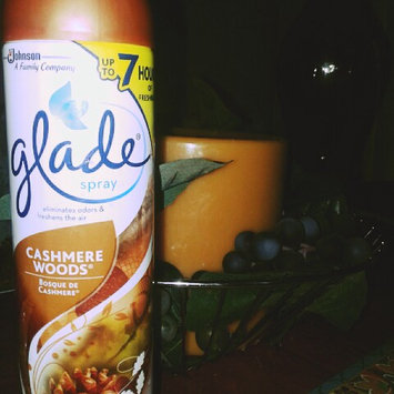 Photo of Glade Cashmere Woods Room Spray uploaded by sarah a.