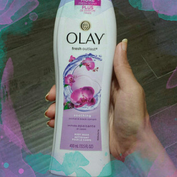 Photo of Olay Fresh Outlast Body Wash, Soothing Orchid & Black Currant, 13.5 fl oz uploaded by naf C.