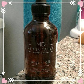 Photo of Bbeautiful Llc Measurable Difference Argan Oil Instant Face & Body Moisturizer, 4 fl oz uploaded by Dyani F.