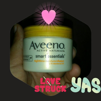 Photo of Aveeno® Smart Essentials® Nighttime Moisture Infusion uploaded by stephania p.