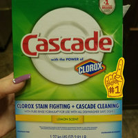 Cascade Dishwasher Detergent with Dawn uploaded by Christina H.