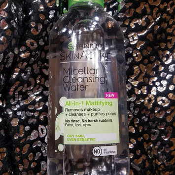 Garnier Skinactive Micellar Cleansing Water All-in-1 Mattifying uploaded by Deliscia T.