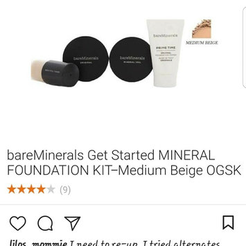 Bare Escentuals bare Minerals Complexion Rescue Tinted Hydrating Gel Cream uploaded by Yannine T.
