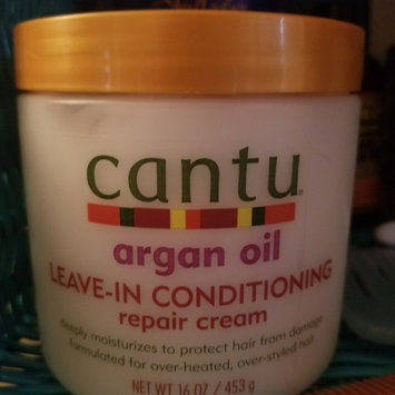 Cantu Argan Oil Leave In Conditioning Repair Cream uploaded by Chelsea B.