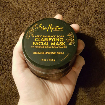 Photo of SheaMoisture African Black Soap Problem Skin Facial Mask uploaded by Tiffany C.