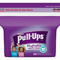 Huggies Pull-Ups Flushable Moist Wipes uploaded by fatima ezzahra b.