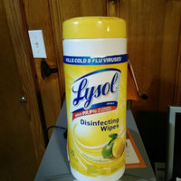 Lysol 77182 Sanitizing Wipes, Lemon & Lime Blossom, White, 7 x 8, 80/Canister, 6/Carton uploaded by Shammah G.