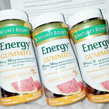 Nature's Bounty® Energy Gummies uploaded by keren a.