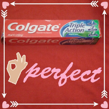 Photo of Colgate® Triple Action Fluoride Toothpaste Original Mint uploaded by أفكار ي.