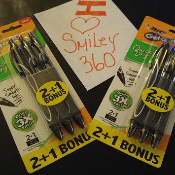 Photo of BIC Gelocity Gel Pens 4+1ct - Black uploaded by One Broke M.