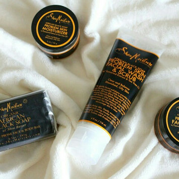 Photo of SheaMoisture African Black Soap Problem Skin Facial Mask uploaded by fatima ezzahra b.
