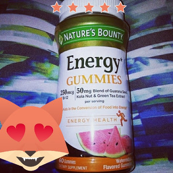 Photo of Nature's Bounty® Energy Gummies uploaded by Sara B.