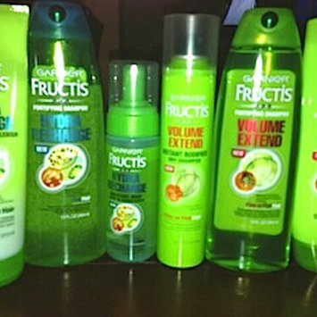 Photo of Garnier Fructis Volume Extend Conditioner uploaded by fatima ezzahra B.