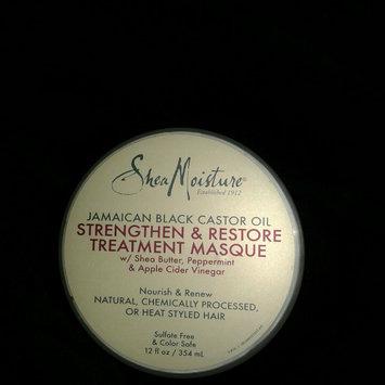 Photo of SheaMoisture Jamaican Black Castor Oil Strengthen, Grow & Restore Treatment Masque w/ Shea Butter, Peppermint & Keratin uploaded by Jaeda P.