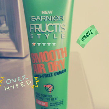 Photo of Garnier Fructis Smooth Air Dry Anti-Frizz Cream uploaded by Jacqueline C.