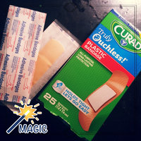 Curad Truly Ouchless Flexible Fabric Bandage, .75 x 3 inch (1.9 x 7.6cm), 20 ea uploaded by Crissy L.
