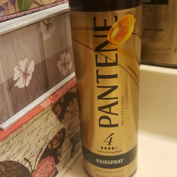 Photo of Pantene Pro-V Extra Strong Hold Hair Spray, 11 oz uploaded by Tabitha W.