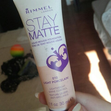 Rimmel Stay Matte Liquid Mousse Foundation uploaded by Toria l.