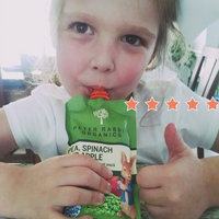 Peter Rabbit Organics, Pea, Spinach and Apple Puree, 4.4-Ounce Pouches (Pack of 10) uploaded by Brandy C.