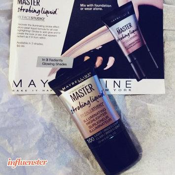 Maybelline Facestudio® Master Strobing Liquid™ Illuminating Highlighter uploaded by Melissa R.