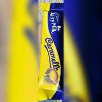 Cadbury Dairy Milk Caramello Milk Chocolate & Creamy Caramel uploaded by mera 2.